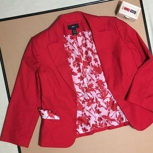 H&M Ruby Red Blazer
